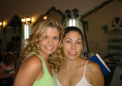 Jill with Actress Joanna Garcia