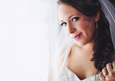 Wedding makeup client Kaylee looking amazing!