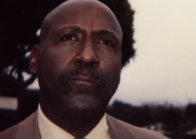 Makeup look done by Jill on actor Richard Roundtree on the set of Brick.