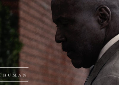 Assistant VP Truman played by actor Richard Roundtree  featuring makeup artistry done by Jill.